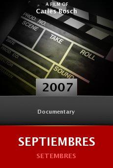 Ver película Septiembres