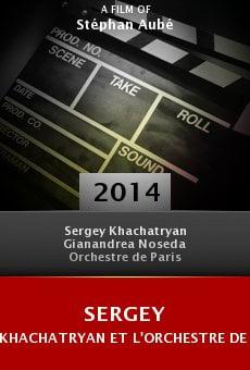 Ver película Sergey Khachatryan et l'Orchestre de Paris dirigés par Gianandrea Noseda à la Salle Pleyel