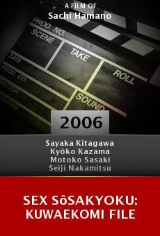 Sex sôsakyoku: Kuwaekomi file online free