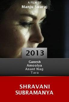 Watch Shravani Subramanya online stream