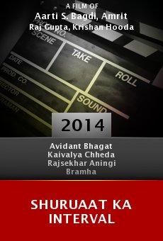 Ver película Shuruaat Ka Interval