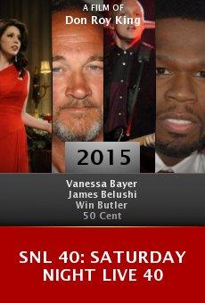 SNL 40: Saturday Night Live 40 online