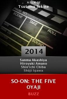 Ver película So-On: The Five Oyaji
