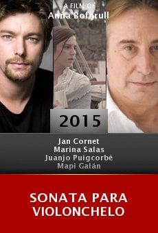 Sonata para violonchelo online free