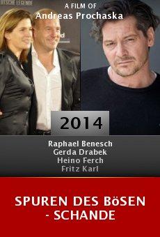 Ver película Spuren des Bösen - Schande