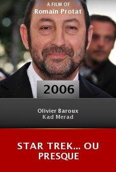 Star Trek... ou presque online free