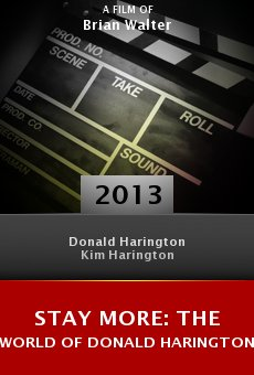 Watch Stay More: The World of Donald Harington online stream