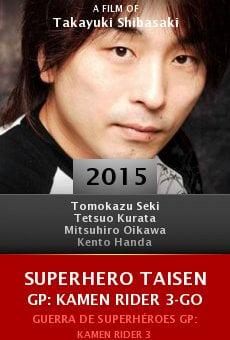 Ver película Superhero Taisen GP: Kamen Rider 3-go