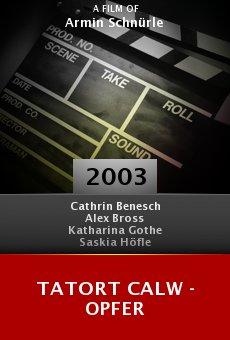 Tatort Calw - Opfer online free