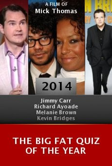 Ver película The Big Fat Quiz of the Year