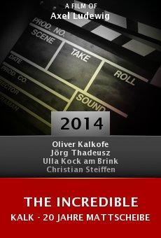 Ver película The Incredible Kalk - 20 Jahre Mattscheibe