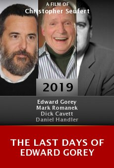 Ver película The Last Days of Edward Gorey