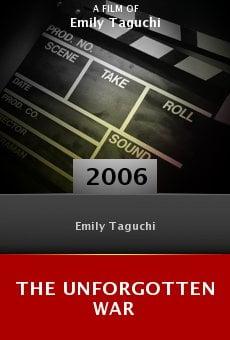 The Unforgotten War online free