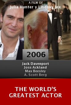 The World's Greatest Actor online free