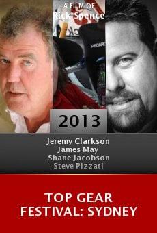 Watch Top Gear Festival: Sydney online stream