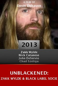Ver película Unblackened: Zakk Wylde & Black Label Society Live