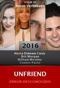 Watch Unfriend online stream
