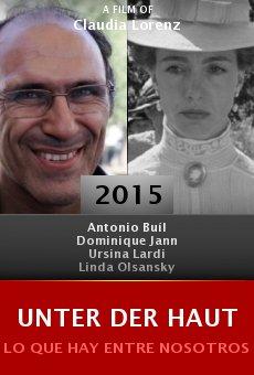 Ver película Unter der Haut