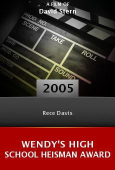 Wendy's High School Heisman Award online free