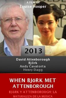 Watch When Björk Met Attenborough online stream