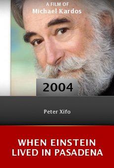 When Einstein Lived in Pasadena online free
