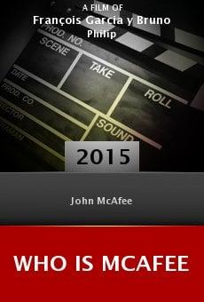 Ver película Who Is McAfee