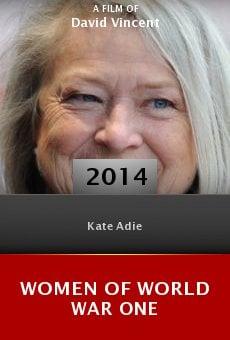 Watch Women of World War One online stream