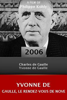 Yvonne de Gaulle, le rendez-vous de novembre online free