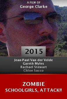 Ver película Zombie Schoolgirls, Attack!!