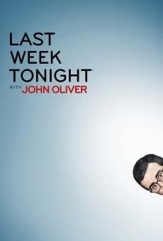 Last Week Tonight with John Oliver online gratis