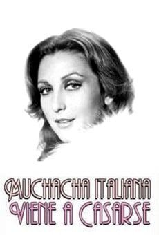 Muchacha italiana viene a casarse online gratis