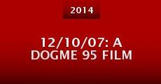 Película 12/10/07: A Dogme 95 film