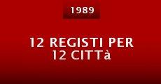 Película 12 registi per 12 città