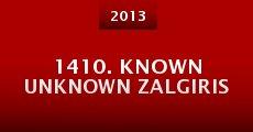 1410. Known Unknown Zalgiris (Grunwald) (2013) stream