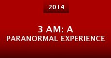 3 AM: A Paranormal Experience (2014)