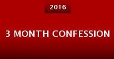 Película 3 Month Confession