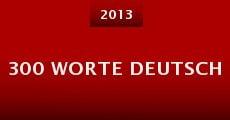 Película 300 Worte Deutsch