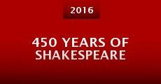 Película 450 Years of Shakespeare