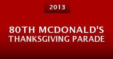 Película 80th McDonald's Thanksgiving Parade