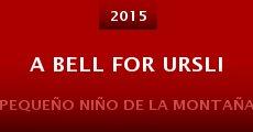 Película A Bell for Ursli