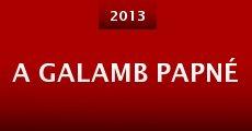 A galamb papné (2013) stream