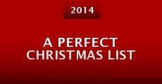 A Perfect Christmas List (2014) stream