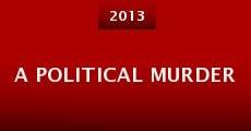 Película A Political Murder