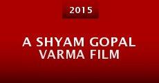 A Shyam Gopal Varma Film (2015)