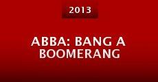 Película ABBA: Bang a Boomerang