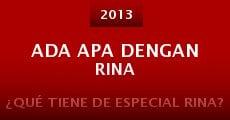 Película Ada apa dengan Rina