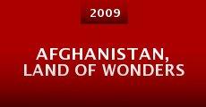 Película Afghanistan, Land of Wonders