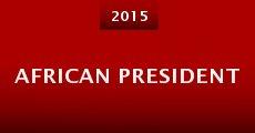 Película African President