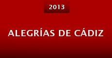 Película Alegrías de Cádiz