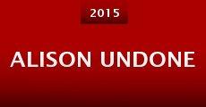 Película Alison Undone